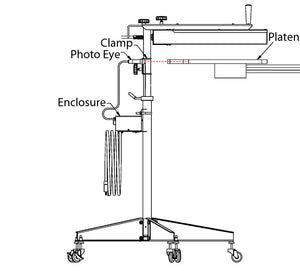 Measuring movement of your Platen