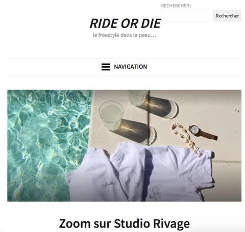 studio rivage anais ride or die