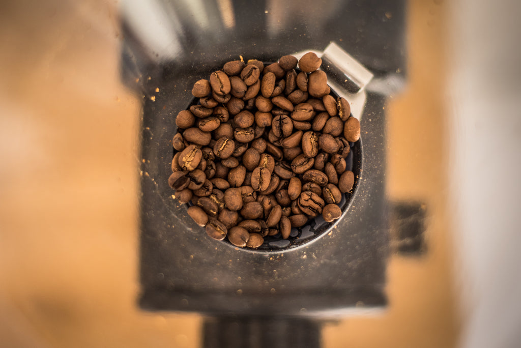 GRINDING YOUR COFFEE BEANS AT HOME?