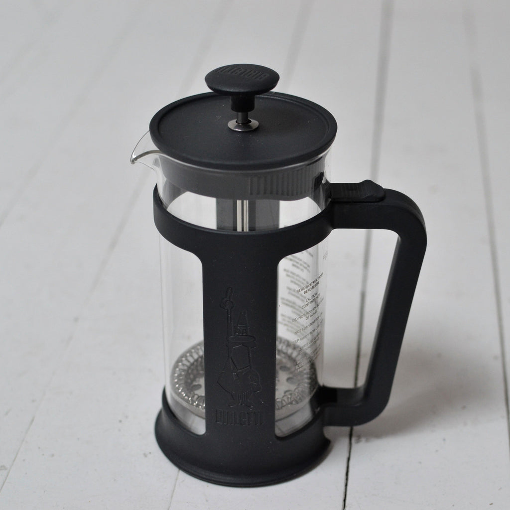 French Press Bialetti Smart 350ml Black - Gust Coffee Roasters