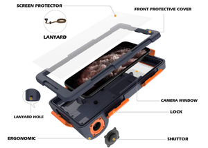 The Most Secure & Universal Photography Underwater Phone Case - 360°Full Body Protection*Suitable for any mobile phone