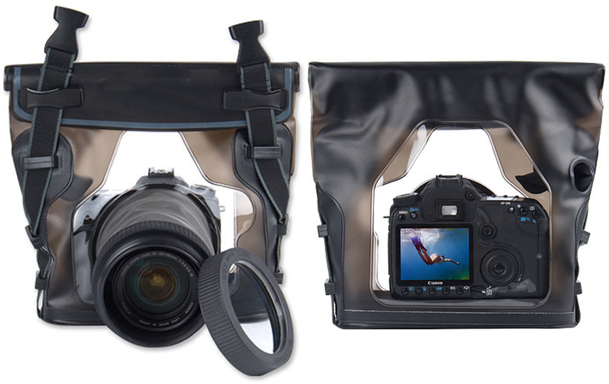 Digital SLR Camera Professional Underwater Case - Floating 100% Waterproof & Adaptable Shooting
