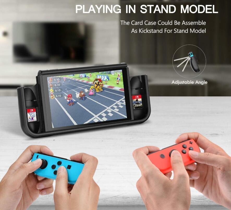The Most Convenient Multi-function Protective GripCase For Nintendo Switch