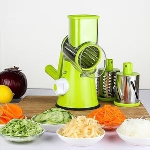 3 in 1 Rotary Drum Slicer Vegetable Cutter Kitchen Grater