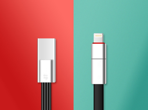 The world first renewable USB cable