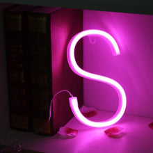 Load image into Gallery viewer, Neon Pink Wall Letters