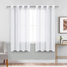 Load image into Gallery viewer, Ombre Sheer Curtains Sets