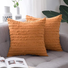 Load image into Gallery viewer, Boho Striped Pattern Cushion Cover