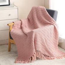 Load image into Gallery viewer, Thick Chunky Knitted Throw Blanket