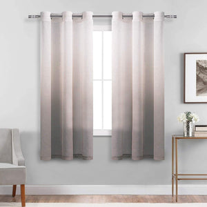 Ombre Sheer Curtains Sets