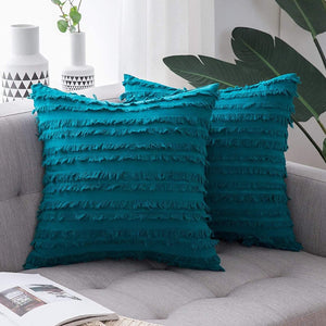 Boho Striped Pattern Cushion Cover