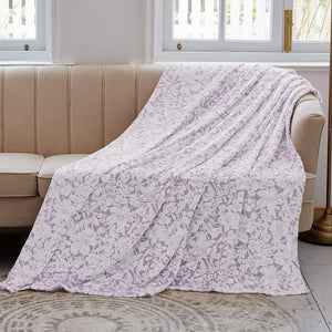 Flannel Fleece Throw Blanket