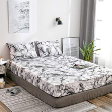 Load image into Gallery viewer, Marble Pattern 3 PCS Fitted Sheets (No Flat Sheet)