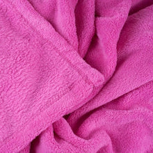 Load image into Gallery viewer, Soft Velvet Pink Fleece