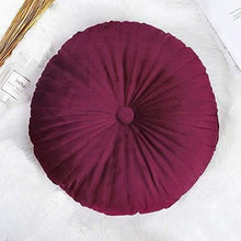 Load image into Gallery viewer, Round Velvet Pumpkin Decorative Pillows