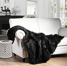 Load image into Gallery viewer, Faux Fur Throw Blanket,