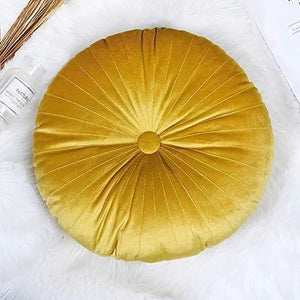 Round Velvet Pumpkin Decorative Pillows