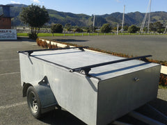 Trailer with Rhino Rack Track Mount Roof Rack
