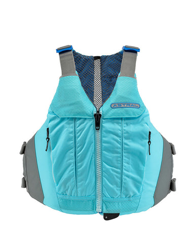 Astral Linda Womens PFD for Sit on Top Kayaks Glacier Blue