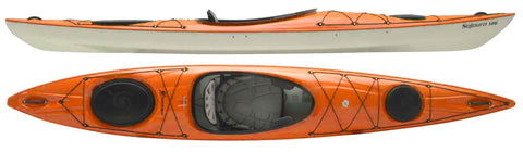 Hurricane Sojurn 126 Day Touring Kayak - Mango