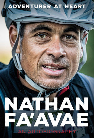 Nathan Fa'avae Authbiography paperback book
