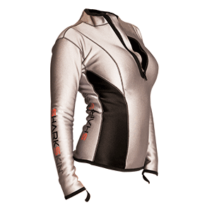 Sharkskin Women' Climate Control Long Sleeve - Silver