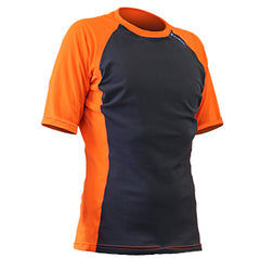 Sharkskin Rapid Dry Short Sleeve Orange
