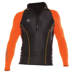Sharkskin Performance Wear LS Top Mens Orange