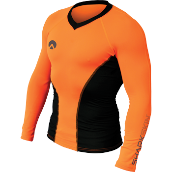 Sharkskin Performance Wear Pro Long Sleeve Orange