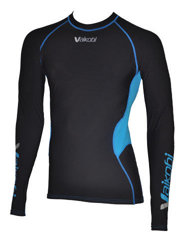 Warm top for surf ski paddling in cold weather.