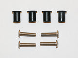 Wellnuts for kayaks with button head bolt