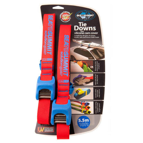 Sea to Summit kayak tie down with buckle bumper