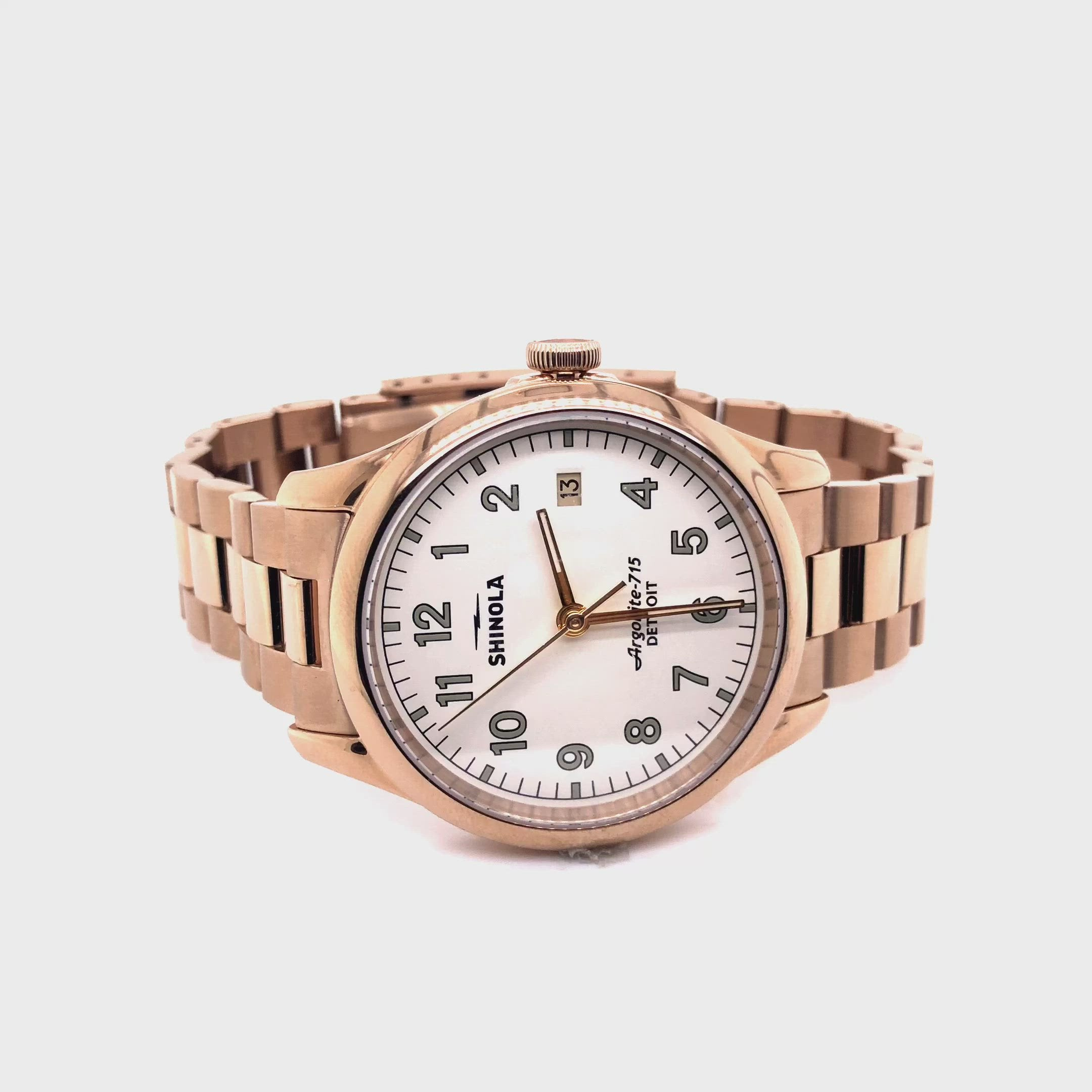 Shinola Men's Vinton 38mm Watch