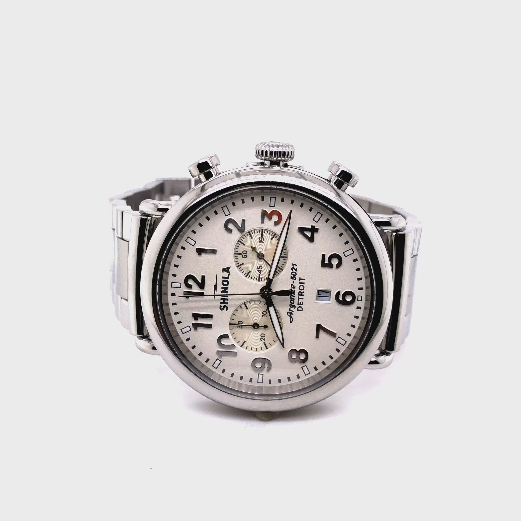 Shinola Men's Runwell Chrono 47mm Watch