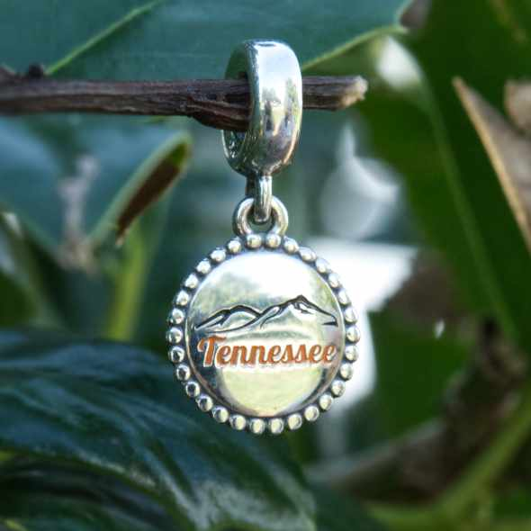 Tennessee Mountains Pandora Charm