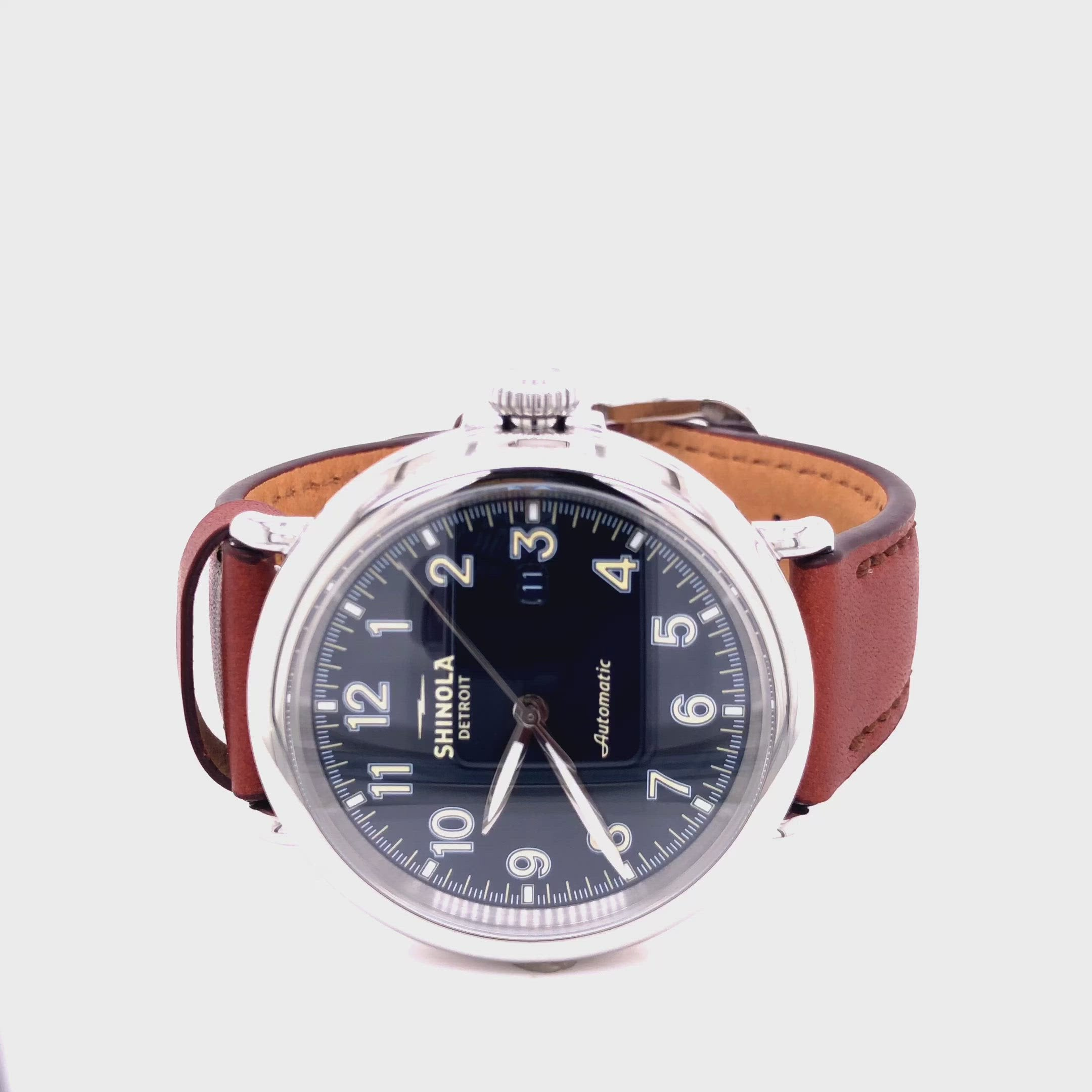 Shinola Men's Runwell Automatic 45mm Watch