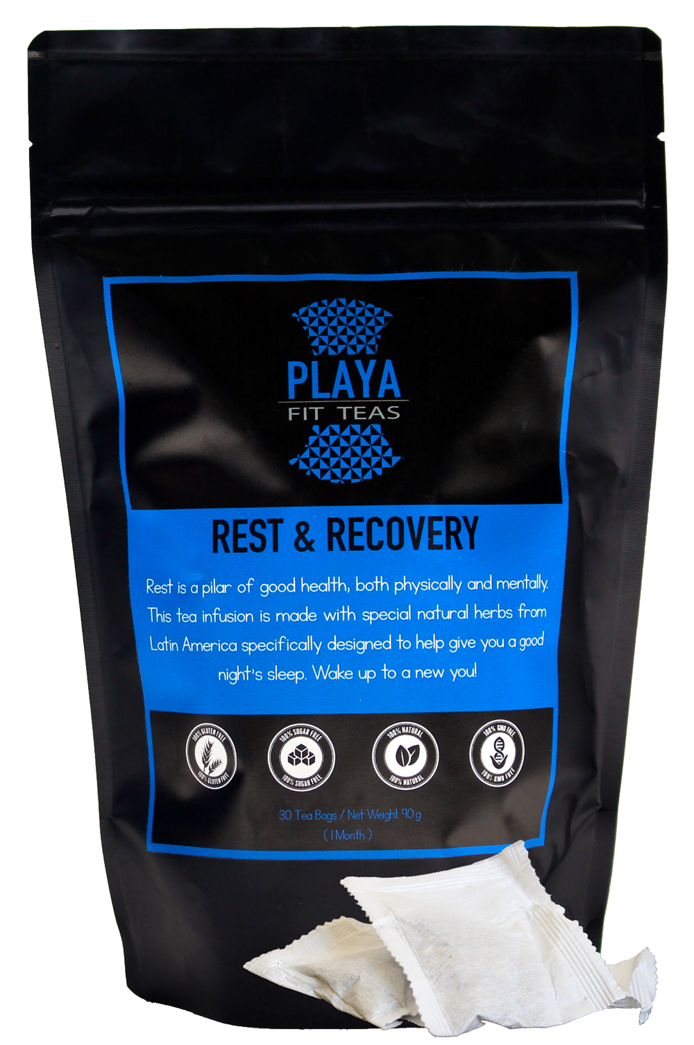 Rest & Recovery - Playa Fit Teas Chile