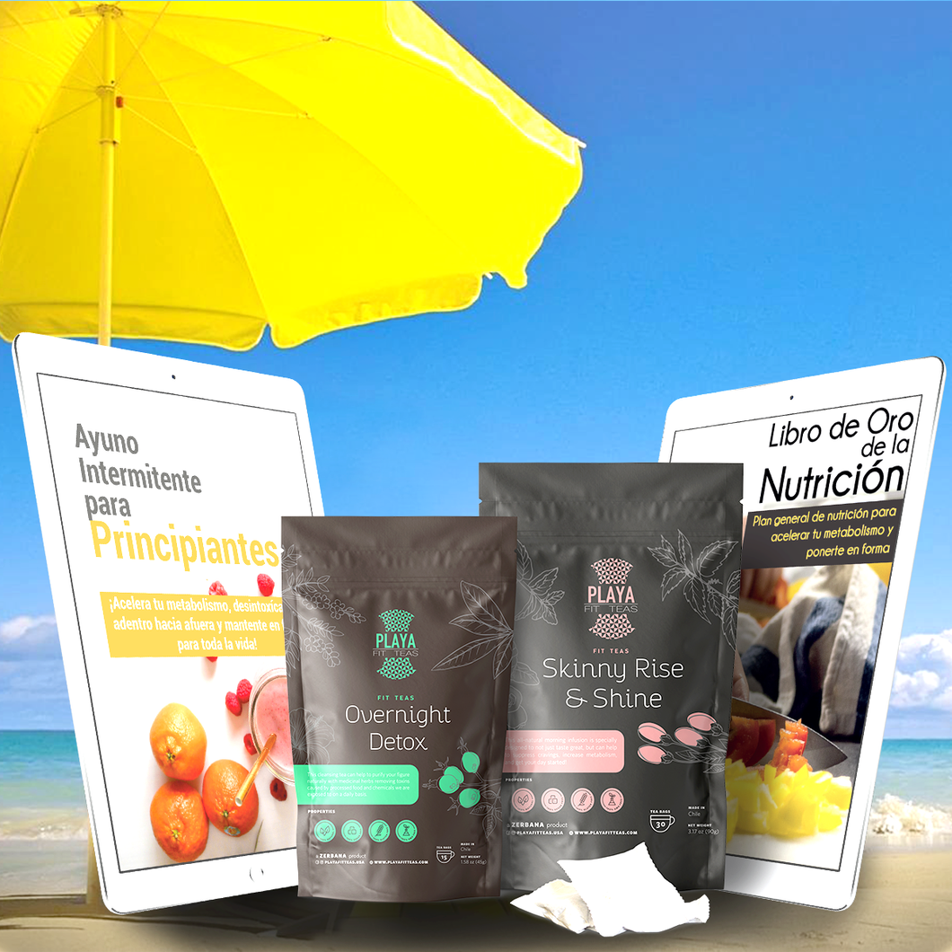 1 Mes Tratamiento + Plan Completo - Playa Fit Teas Chile