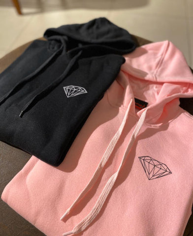 Moletom Canguru Diamond OG Brilliant Hoodie