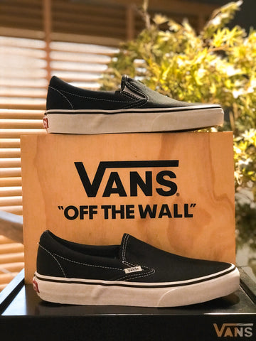 TÊNIS VANS SLIP ON BLACK