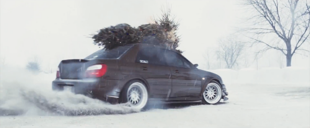 LowLevel Christmas Drift 2JZ STi