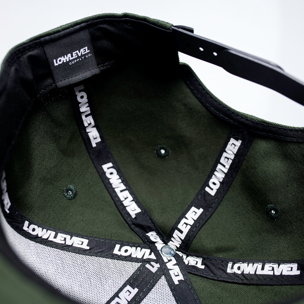 LowLevel Snapback Green/Copper