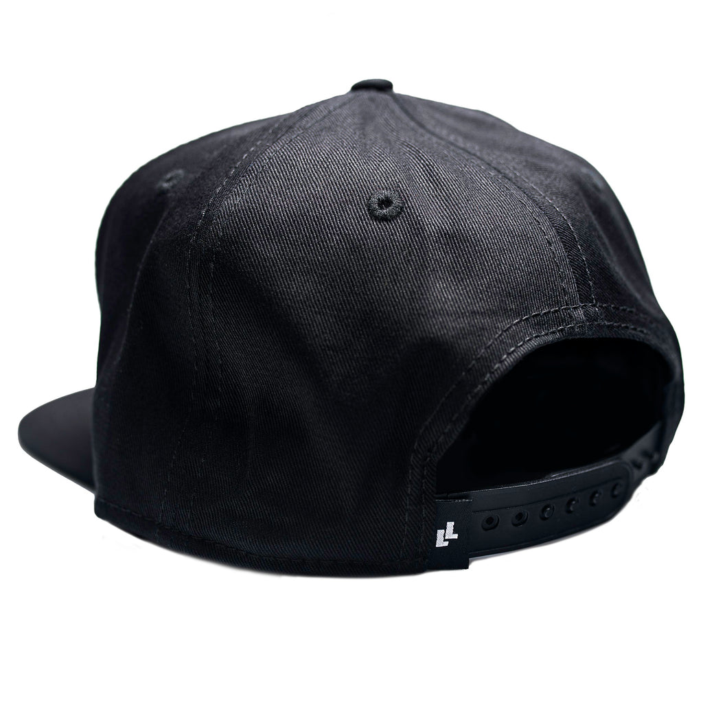 LowLevel Snapback Black on Black
