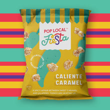 Load image into Gallery viewer, Pop Local Fiesta Caliente Caramel Popcorn (Snack Bags)