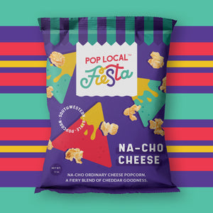 Pop Local Fiesta Na-cho Cheese Popcorn (Snack Bags)