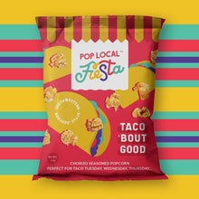 Load image into Gallery viewer, Pop Local Fiesta Taco 'Bout Good Popcorn (Snack Bags)