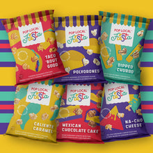 Load image into Gallery viewer, Pop Local Fiesta Popcorn (Snack Bags Variety Pack)