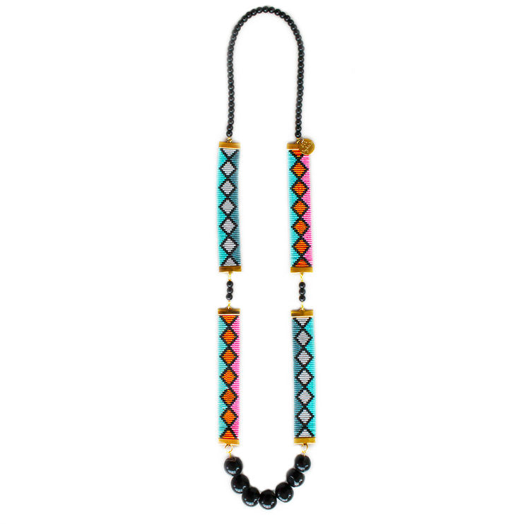 Miami Nights Necklace / Long - Shh by Sadie