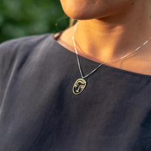 Load image into Gallery viewer, Face Necklace - Lima Lima