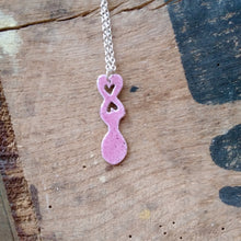 Load image into Gallery viewer, Lovespoon necklaces by Lora Wyn
